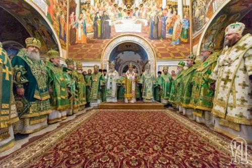 Блаженніший Митрополит Онуфрій очолив всенічне бдіння напередодні дня пам'яті преподобного Феодосія Печерського