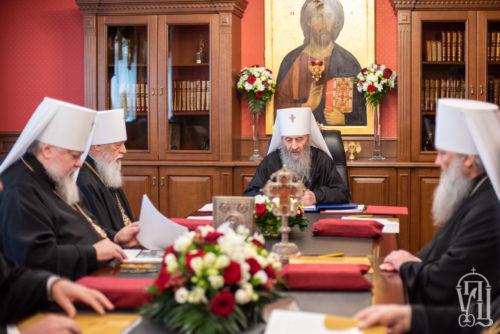 Відбулося перше у 2021 році засідання Священного Синоду УПЦ (+фото, відео)