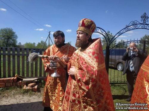 В Нежинской епархии освящена часовня в честь св. равноап. княгини Ольги