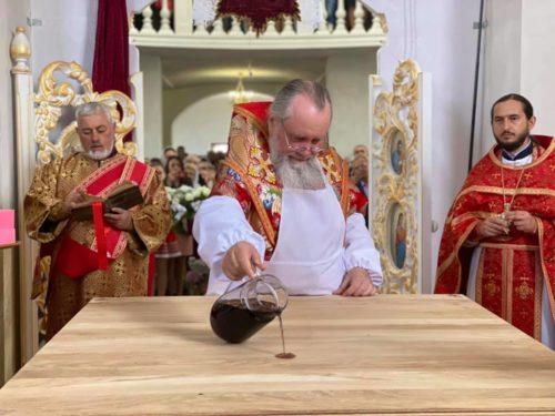 У Мукачівській єпархії освячено новий храм на честь вмч. Димитрія Солунського