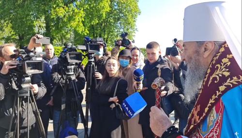 Блаженнейший Митрополит Онуфрий поздравил украинцев с Днем Победы