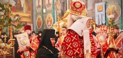 Митрополит Сергій возвів у сан ігумені новообрану настоятельку Кременецького жіночого монастиря