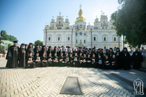 Блаженніший Митрополит Онуфрій очолив урочистості з нагоди випуску у Київських духовних школах (+відео)
