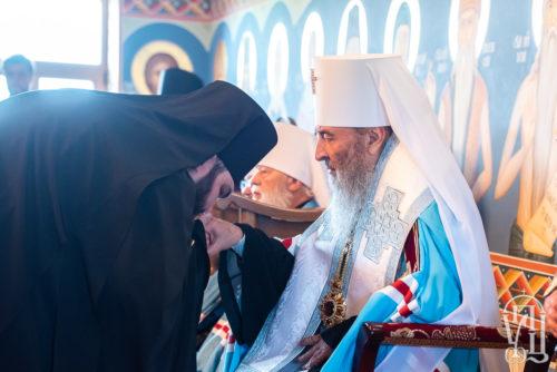 Предстоятель очолив чин наречення архімандрита Паїсія (Шинкарьова) в єпископа Костянтинівського (+відео)