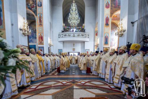 Блаженніший Митрополит Онуфрій очолив святкове богослужіння у Запоріжжі (+відео)