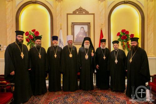 Керуючий справами УПЦ зустрівся з Патріархом Антіохійським Іоанном (відео)