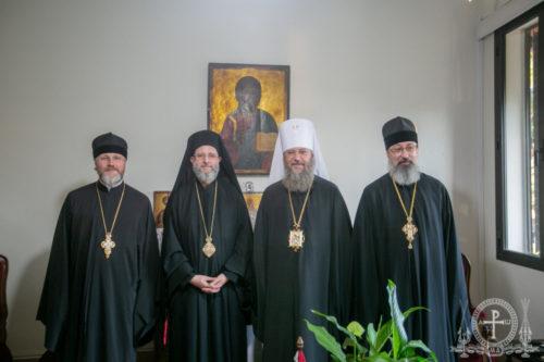 Керуючий справами УПЦ зустрівся з митрополитом Гір Ліванських Силуаном