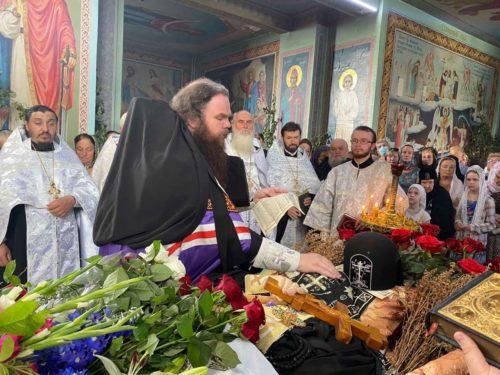 Єпископ Згурівський Амвросій звершив чин поховання засновника і першого намісника Княжицького монастиря архімандрита Софронія