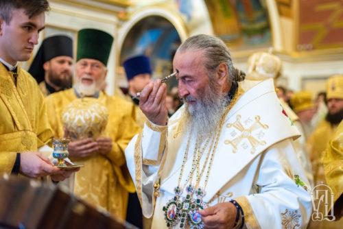 Напередодні Неділі 6-ї після П'ятидесятниці Предстоятель очолив всенічне бдіння у Києво-Печерській лаврі