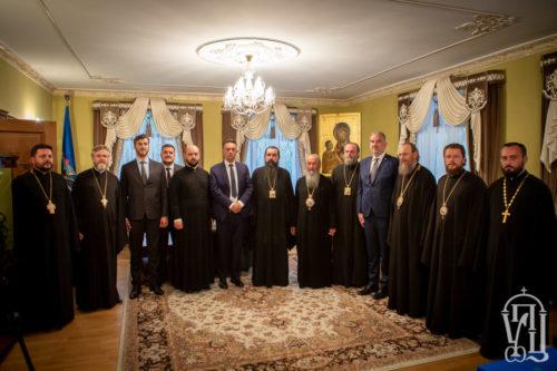 Блаженніший Митрополит Онуфрій зустрівся з делегаціями Помісних Православних Церков