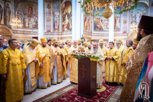 Блаженніший Митрополит Онуфрій очолив престольне свято в Ольгинському соборі столиці (відео)