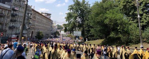 350 тисяч вірян взяли участь у Великому Хресному ході в День Хрещення Русі