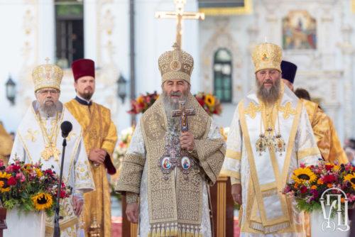 Нехай молитвами святого князя Володимира Господь допомагає нам бути гідними його нащадками — Предстоятель УПЦ (відео)