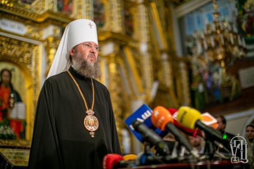 Представителей УПЦ не будет на мероприятиях, в которых будет принимать участие патриарх Варфоломей — Управделами УПЦ