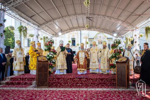 Украинская Православная Церковь торжественно отметила 1033-летие Крещения Руси (видео)