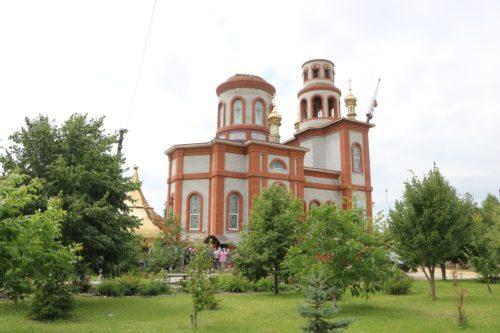 Митрополит Дніпропетровський Іриней освятив храм на честь великого князя Володимира