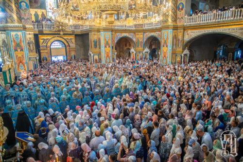 Предстоятель очолив святкування на честь Почаївської ікони Божої Матері