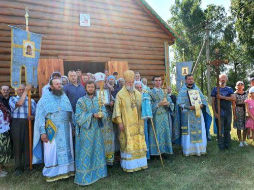 В Овруцькій та Черкаській єпархіях освячено нові храми