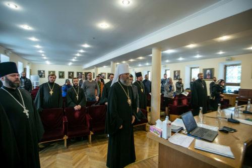 У Києво-Печерській Лаврі відбулися чергові збори представників єпархіальних юридичних відділів УПЦ