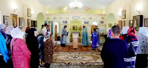Напередодні 30-річчя заснування Донецької єпархії у с. Касянівка освячено новозбудований храм