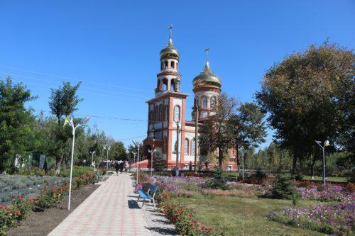 У Дніпропетровській єпархії освячено храм у с. Вербуватівка