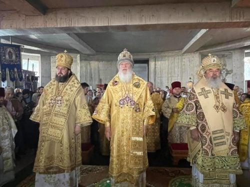 Митрополит Агафангел очолив святкове богослужіння в Молдові