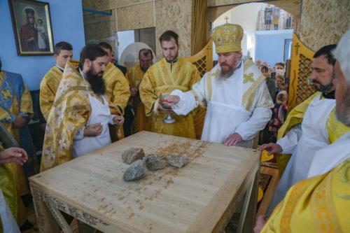 В Одеській та Ізюмській єпархіях освячено нові храми, в Білоцерківській – каплицю
