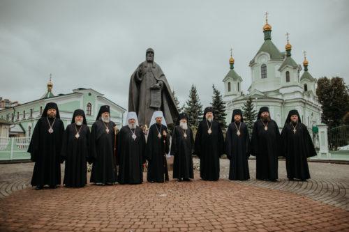 Архієреї УПЦ вшанували пам'ять преподобномученика Афанасія Брестського у Білорусії