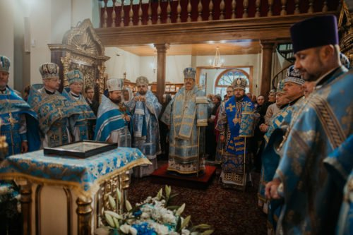 Епископ Барышевский Виктор принял участие в праздновании в честь Холмской иконы Божией Матери в Польше