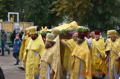 У Чернігові молитовно відзначили 125-річчя прославлення свт. Феодосія Чернігівського, у Глинській пустині – престольне свято