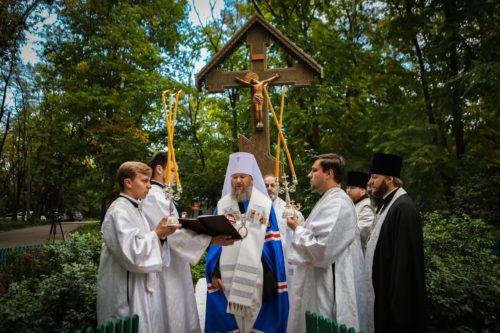 Керуючий справами УПЦ очолив заупокійну літію за загиблими у Бабиному Яру з нагоди 80-х роковин трагедії