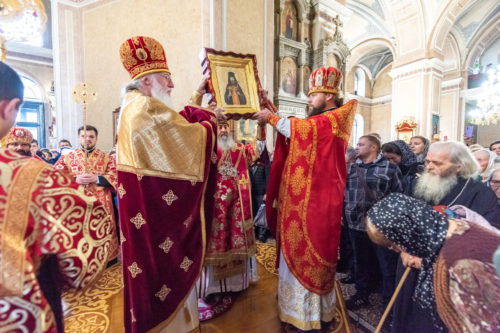 Предстоятель очолив прославлення преподобномученика Аристарха (Сітала) у Сумській єпархії УПЦ (+фото, відео)