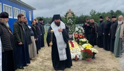 У Городницькому монастирі на Волині звершили поминальні богослужіння на дев'ятий день після смерті митрополита Варфоломія