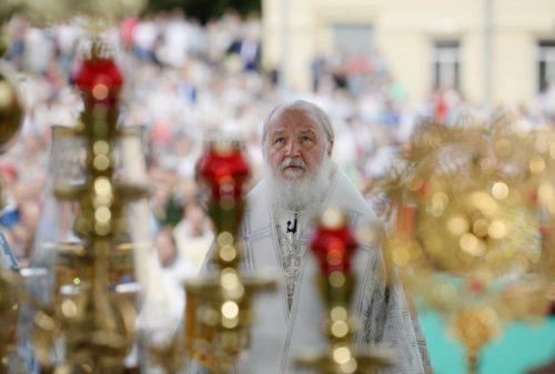 Святіший Патріарх Кирил висловив співчуття у зв'язку з кончиною митрополита Рівненського і Острозького Варфоломія (рос)