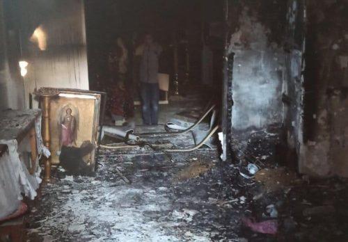 В Одеській єпархії підпалили споруджуваний храм УПЦ