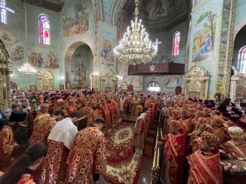 Блаженніший Митрополит Онуфрій очолив святкування Собору Єкатеринославських святих у Кривому Розі (відео)