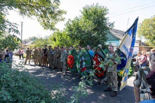 У Новокаховській єпархії попрощались із загиблим військовим Валентином Чепурним