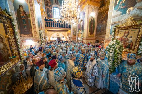 Предстоятель очолив ювілейні урочистості у Зимненському монастирі на Волині (+фото, відео)