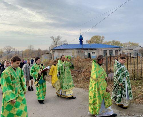 Митрополит Сєверодонецький Никодим освятив приділ на честь праведного Іоанна Кронштадтського