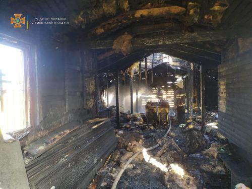 Згорів храм у с. Безп'ятне Київської області – віряни просять про допомогу