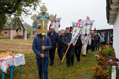 Парафія с. Годомичі на Волині, в якої було відібрано храм, відзначила престольне свято