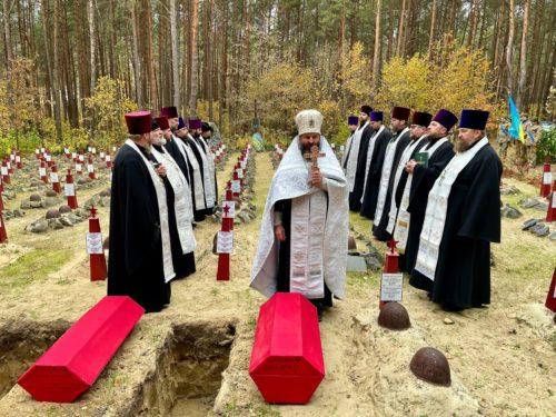 Духовенство Володимир-Волинської єпархії взяло участь у перепохованні останків 17-ти воїнів