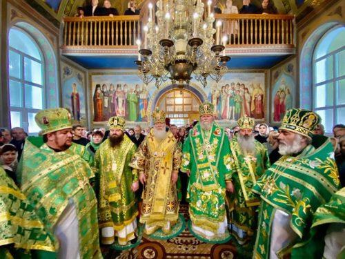 Архієпископ Празький Михаїл взяв участь в урочистостях Хустської єпархії в день пам'яті прп. Олексія Карпаторуського