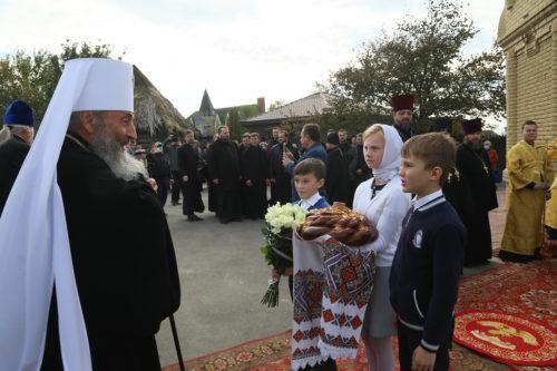 Предстоятель освятив каплицю на честь князя Володимира в Ізюмській єпархії