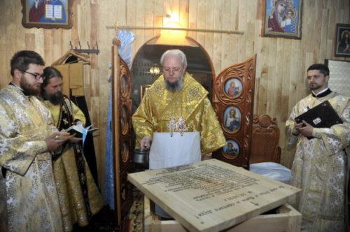 Митрополит Балтський Олексій звершив освячення престолу у Покровському храмі с. Точилове на Одещині