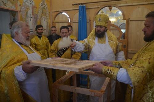 В Вознесенской епархии архиепископ Алексий освятил новый храм