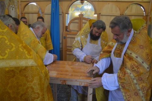 У Вознесенській єпархії архієпископ Олексій освятив новий храм