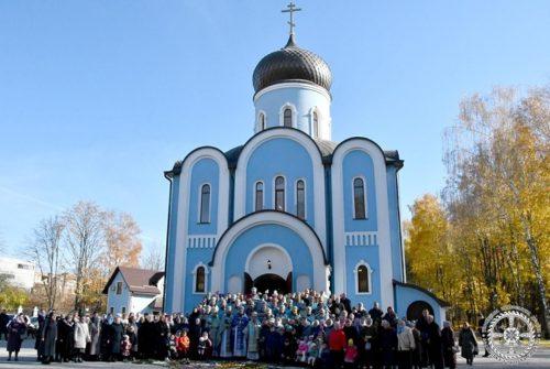 Архієпископ Нафанаїл освятив престол Благовіщенського храму у Луцьку